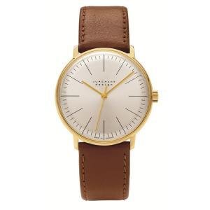 027/5703.00(2年間保証)ユンハンス正規特約店のマックスビル・ハンドワインド(手巻きメンズ腕時計)JUNGHANS正規品|endogemz