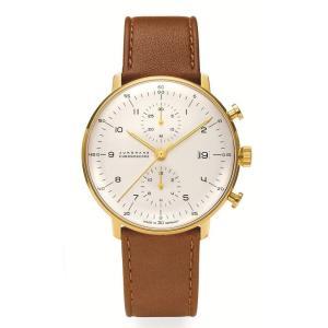 027/7800.00(2年間保証)ユンハンス正規特約店のマックスビル・クロノスコープ(メンズ腕時計)JUNGHANS正規品|endogemz