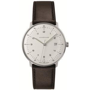 041/4461.00(2年間保証)ユンハンス正規特約店のマックスビル・クオーツ・カレンダー付メンズ腕時計JUNGHANS正規品|endogemz