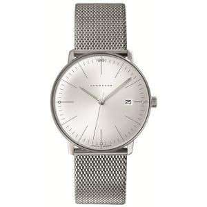 041/4463.44(2年間保証)ユンハンス正規特約店のマックスビル・クオーツ・カレンダー付メンズ腕時計JUNGHANS正規品|endogemz