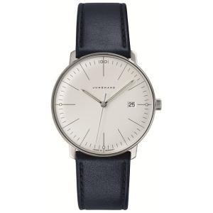 041/4464.00(2年間保証)ユンハンス正規特約店のマックスビル・クオーツ・カレンダー付メンズ腕時計JUNGHANS正規品|endogemz