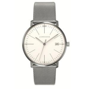 047/4250.44(2年間保証)ユンハンス正規特約店のマックスビル・レディス薄型クオーツ腕時計JUNGHANS正規品|endogemz