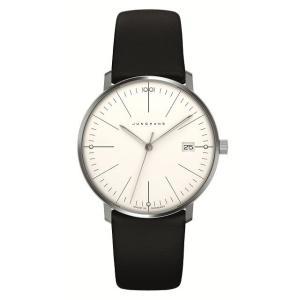 047/4251.00(2年間保証)ユンハンス正規特約店のマックスビル・レディス薄型クオーツ腕時計JUNGHANS正規品|endogemz