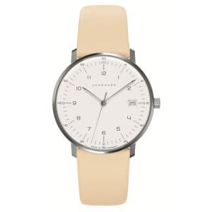 047/4252.00(2年間保証)ユンハンス正規特約店のマックスビル・レディス薄型クオーツ腕時計JUNGHANS正規品|endogemz