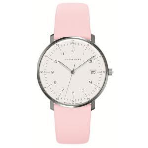 047/4253.00(2年間保証)ユンハンス正規特約店のマックスビル・レディス薄型クオーツ腕時計JUNGHANS正規品|endogemz