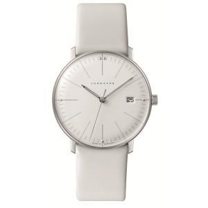 047/4355.00(2年間保証)ユンハンス正規特約店のマックスビル・レディス薄型クオーツ腕時計JUNGHANS正規品|endogemz