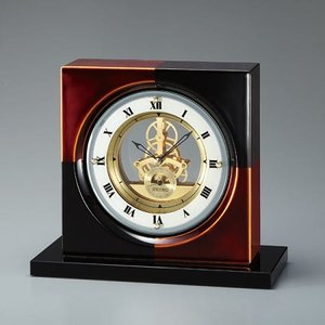 BZ810K スケルトンムーブのセイコーデコール置き時計 |endogemz