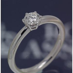 ロイヤルアッシャーダイヤモンド正規特約店 200(王道のソリテール) 0.36ct Fカラー VS2|endogemz