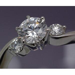 ロイヤルアッシャーダイヤモンド正規特約店 680/0.36ct Fカラー VS2|endogemz