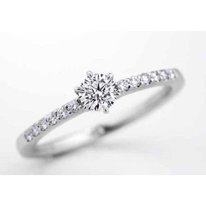 ロイヤルアッシャーダイヤモンド正規特約店 688 0.25ct Gカラー SI1|endogemz