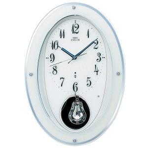 HS444W セイコーエンブレム電波掛け時計(木枠)40曲 16和音メロディ|endogemz