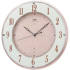 HS524A セイコーエンブレム電波掛け時計(木枠)音のしない流れるような秒針 スイープセコンド endogemz
