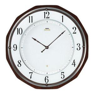 HS536B セイコーエンブレムソーラー電波掛け時計(木枠) 明るさを気にせずに使えるソーラープラス|endogemz