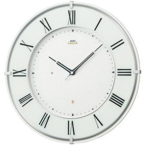 """HS542W セイコーエンブレム電波掛け時計(木枠)""""白""""を美しく際立たせた新モデル endogemz"""