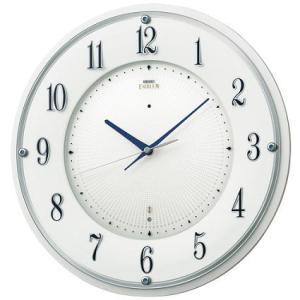 HS543W セイコーエンブレム電波掛け時計(木枠)艶やかな白 スイープセコンド おやすみ秒針 endogemz