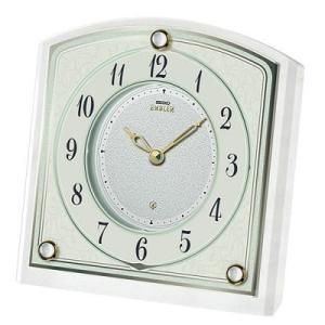 HW588W セイコーエンブレム 白大理石枠の上質な置時計|endogemz
