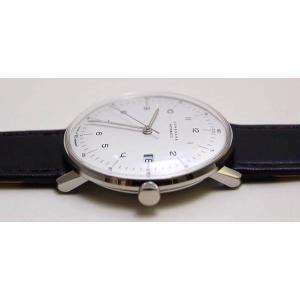 027/4700.00(2年間保証)ユンハンス正規特約店のマックスビル オートマチック カレンダー(メンズ腕時計)JUNGHANS正規品|endogemz|03