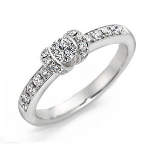 ロイヤルアッシャーダイヤモンド正規特約店 R008 0.19ct FカラーVS2|endogemz