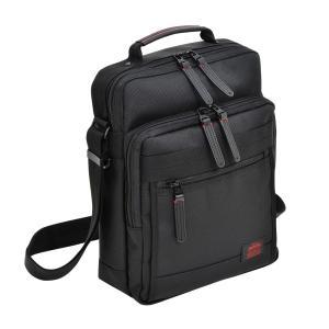 ショルダーバッグ キャリーループ カジュアルビジネス メンズ A4サイズ収納 NEOPRO RED 2-024|endokaban
