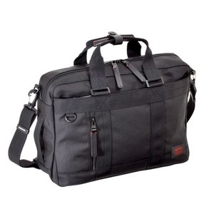 ビジネスバッグ 3WAY ショルダーバック ブリーフ リュック キャリーループ カジュアルビジネス メンズ PC収納 NEOPRO RED 2-038|endokaban