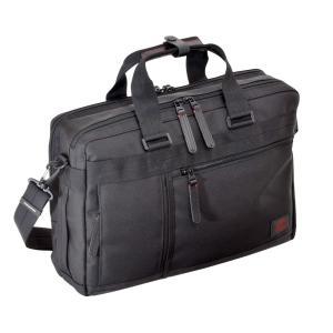 ビジネスバッグ 3WAY Wルーム ショルダーバック ブリーフ リュック キャリーループ メンズ PC収納 B4サイズ収納 NEOPRO RED 2-039|endokaban