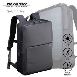 (2-861)NEOPRO Solar Drive リュック ビジネスバッグ ネオプロ 太陽光 発電 ソーラーパネル|endokaban