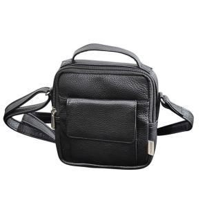 ショルダー 横型レザーバッグ Sサイズ メンズ インドレザー 本革 牛革 ABSOLUTE ZERO Men's Leather 4-371 endokaban