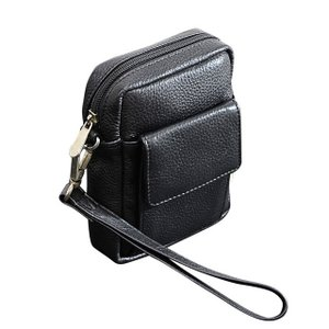ベルトポーチ  縦型レザーバッグ メンズ インドレザー 本革 牛革 ABSOLUTE ZERO Men's Leather 4-372|endokaban