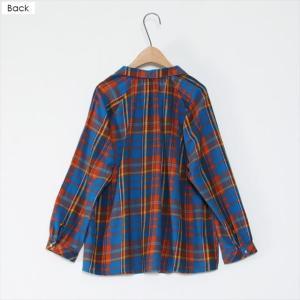 全3色 チェック柄ネルTシャツ ener 05