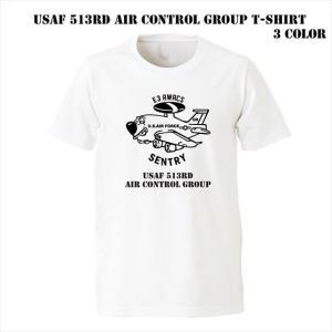アメリカ空軍 第513航空管制グループ Tシャツ ener