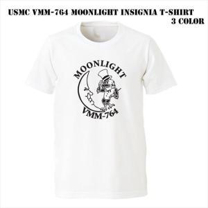 USMC VMM-764 Moonlight インシグニア Tシャツ ener