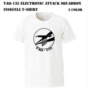 VAQ-135 Electronic Attack Squadron インシグニア Tシャツ ener