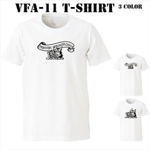 Strike Fighter Squadron 11(VFA-11)Tシャツ|ener