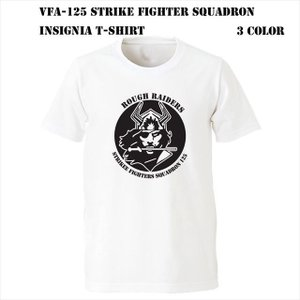 VFA-125 Strike Fighter Squadron インシグニア Tシャツ|ener