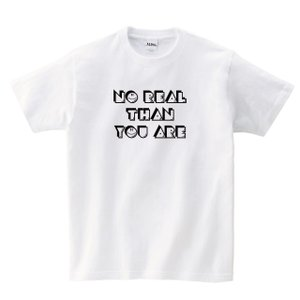 【MISSY MISTER】NO REAL THAH YOUARE Tシャツ|ener