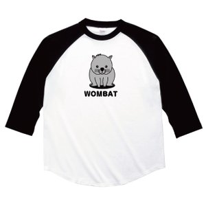 ウォンバットプリント七分袖Tシャツ|ener