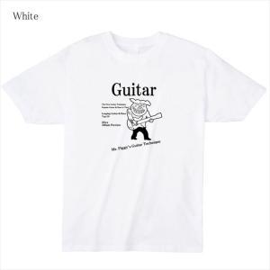 ロックプリントTシャツ 大きいサイズ有 ブタ 半袖 おもしろ キャラクター オリジナル メンズ レディース|ener|02
