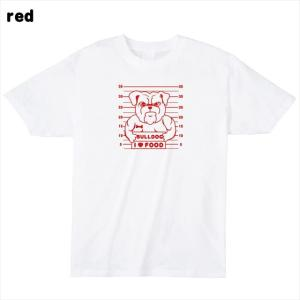 [S-XL] ブルドックマグショットプリントTシャツ おもしろ ロゴ 犬 動物|ener|03