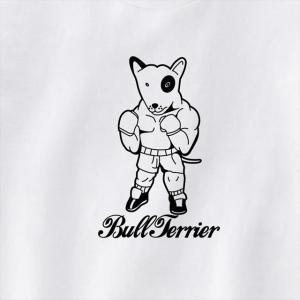 [S-XL]ブルテリアボクサープリントTシャツ(A) 動物 おもしろ キャラクター|ener|03