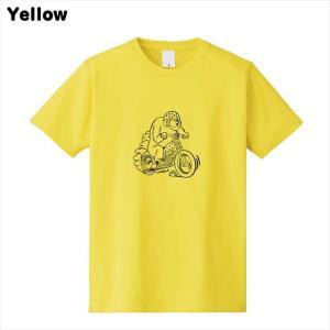 [全3色] ツーリングベアプリントTシャツ|ener|03