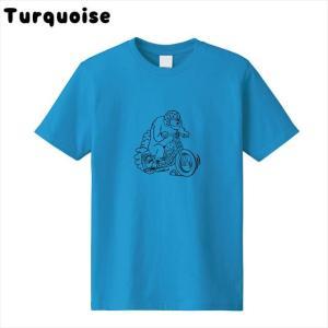 [全3色] ツーリングベアプリントTシャツ|ener|04