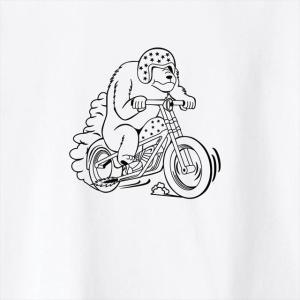 [全3色] ツーリングベアプリントTシャツ|ener|05