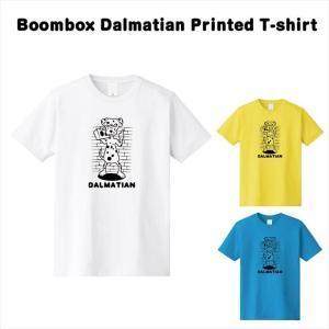 [全3色] ラジカセダルメシアンプリントTシャツ|ener