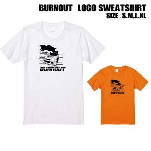 全2色 バーンアウトロゴプリントTシャツ|ener