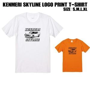 全2色 KENMERISKYLINEロゴプリントTシャツ|ener