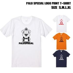 全4色 パロスペシャルロゴプリントTシャツ|ener