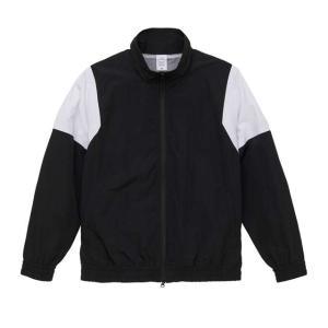 [全4色/大きいサイズ有] ナイロン切り替えトラックジャケット 裏地付き|ener