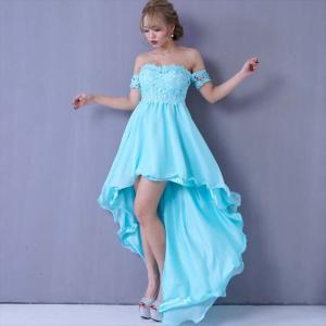 全5色 レーステールプリンセスロングドレス ワンピース セクシー キャバドレス お呼ばれ パーティー 衣装 ener 07
