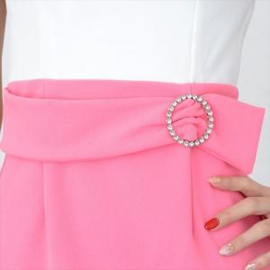 シースルーフリルミニワンピースドレス ener 10