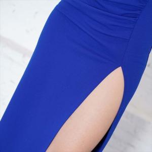全3色 オフショルスリットロングワンピース お呼ばれ パーティー ナイト セクシー ドレス キャバドレス|ener|07